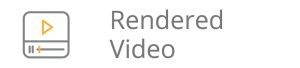 rendered video icon