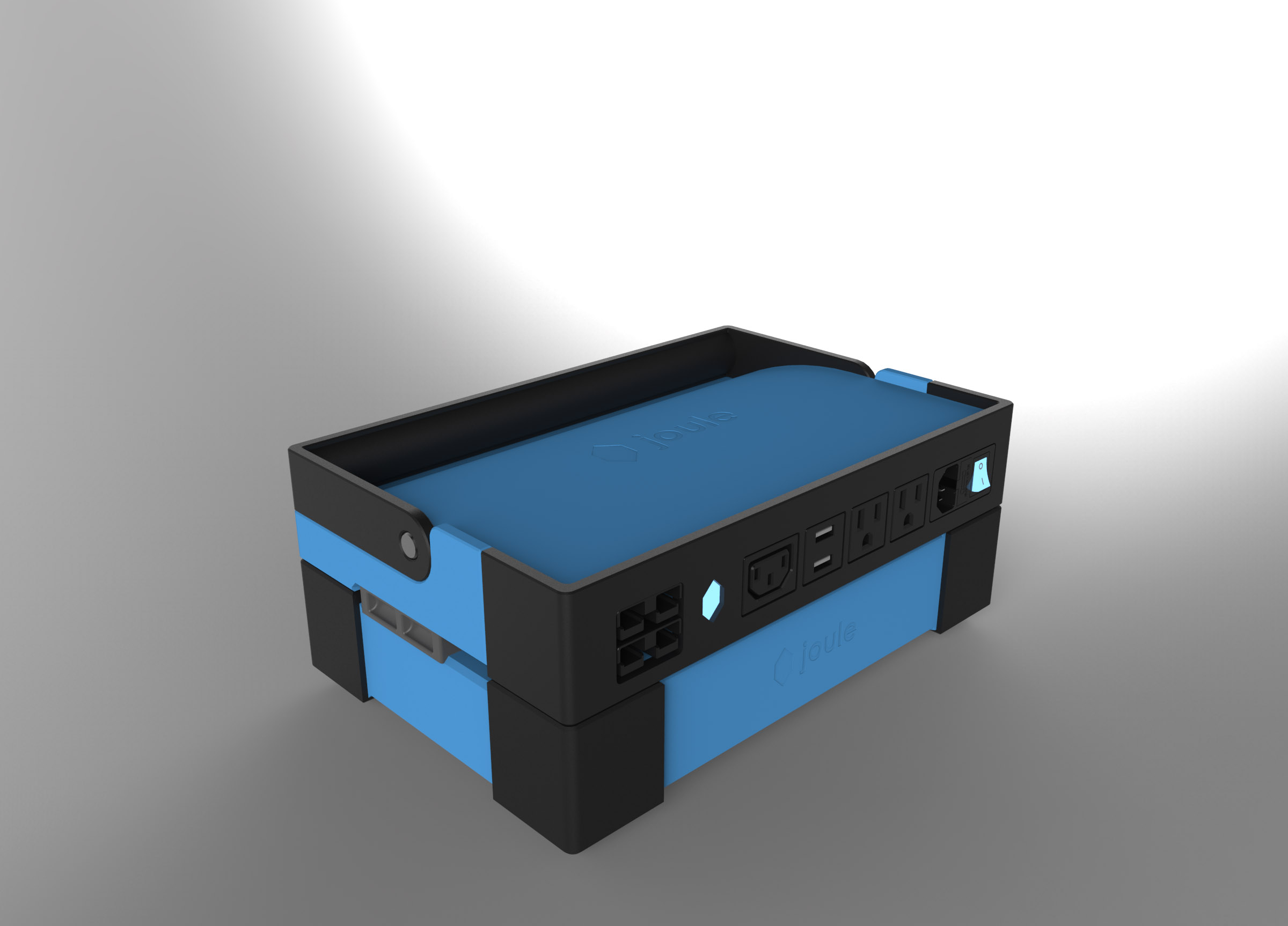 Joule Case CAD rendering