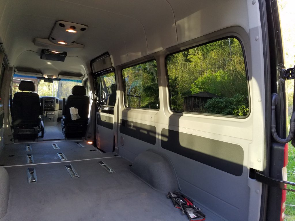 Sprinter Van Interior With Seats Removed