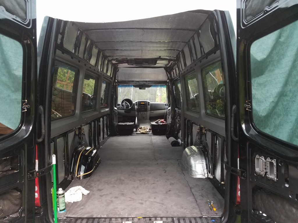 Insulating A Sprinter Van For Painless Road Trips