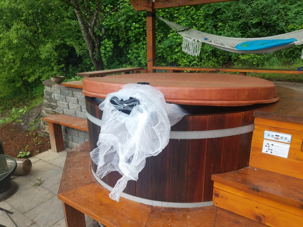 sprinter soundproofing material warming in hot tub