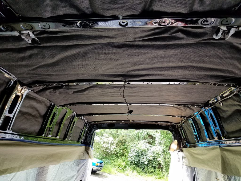best insulation for a sprinter van