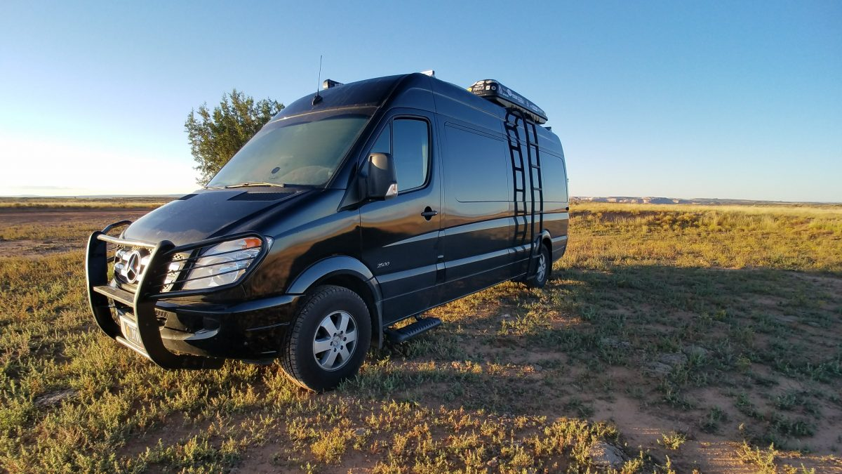 Custom Sprinter Conversion Exterior Upgrades
