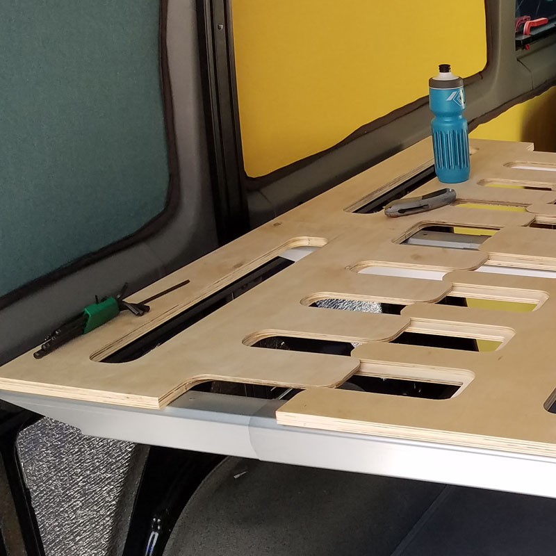 Elevating The Sprinter Conversion With An Adjustable Bed
