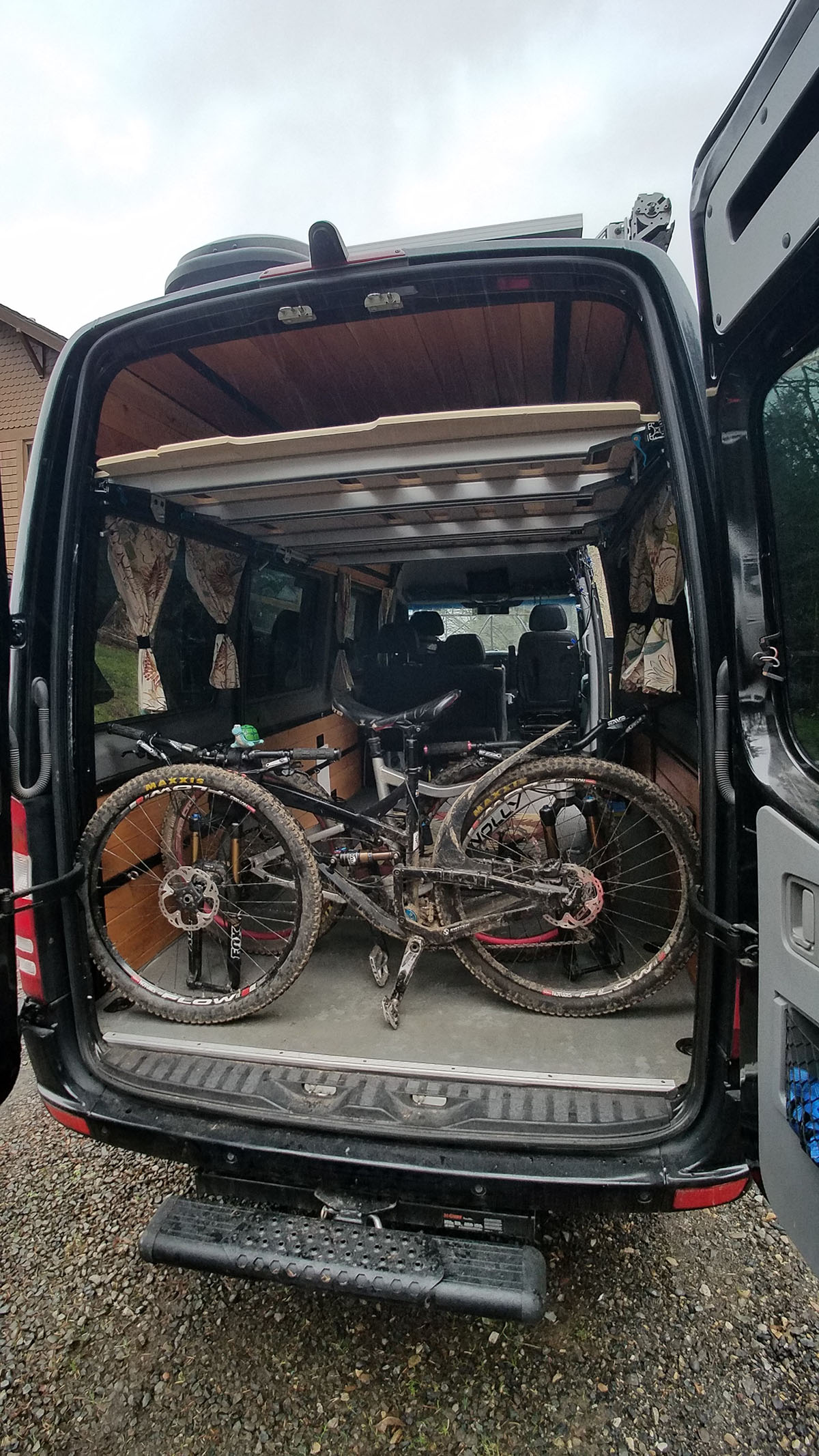 two bikes as easy as one - with room to maneuver