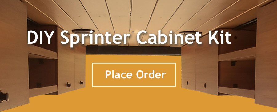 Order your DIY Sprinter Cabinet Kit