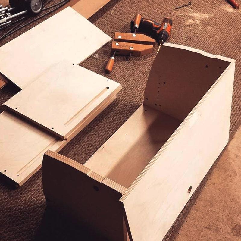 Sprinter Van Conversion DIY Cabinets - easy assembly