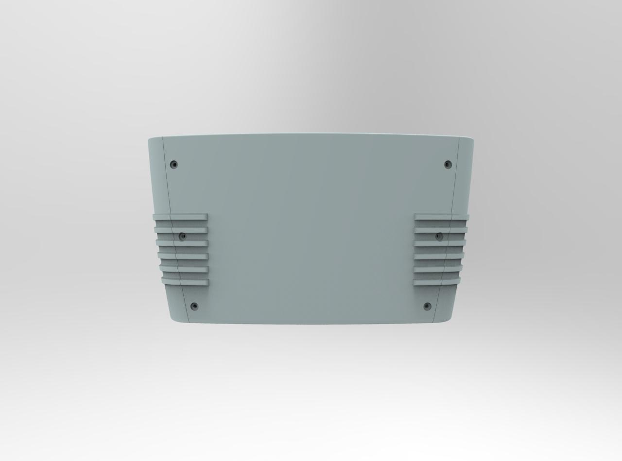 SolidWorks CAD rendering back - elegant utility