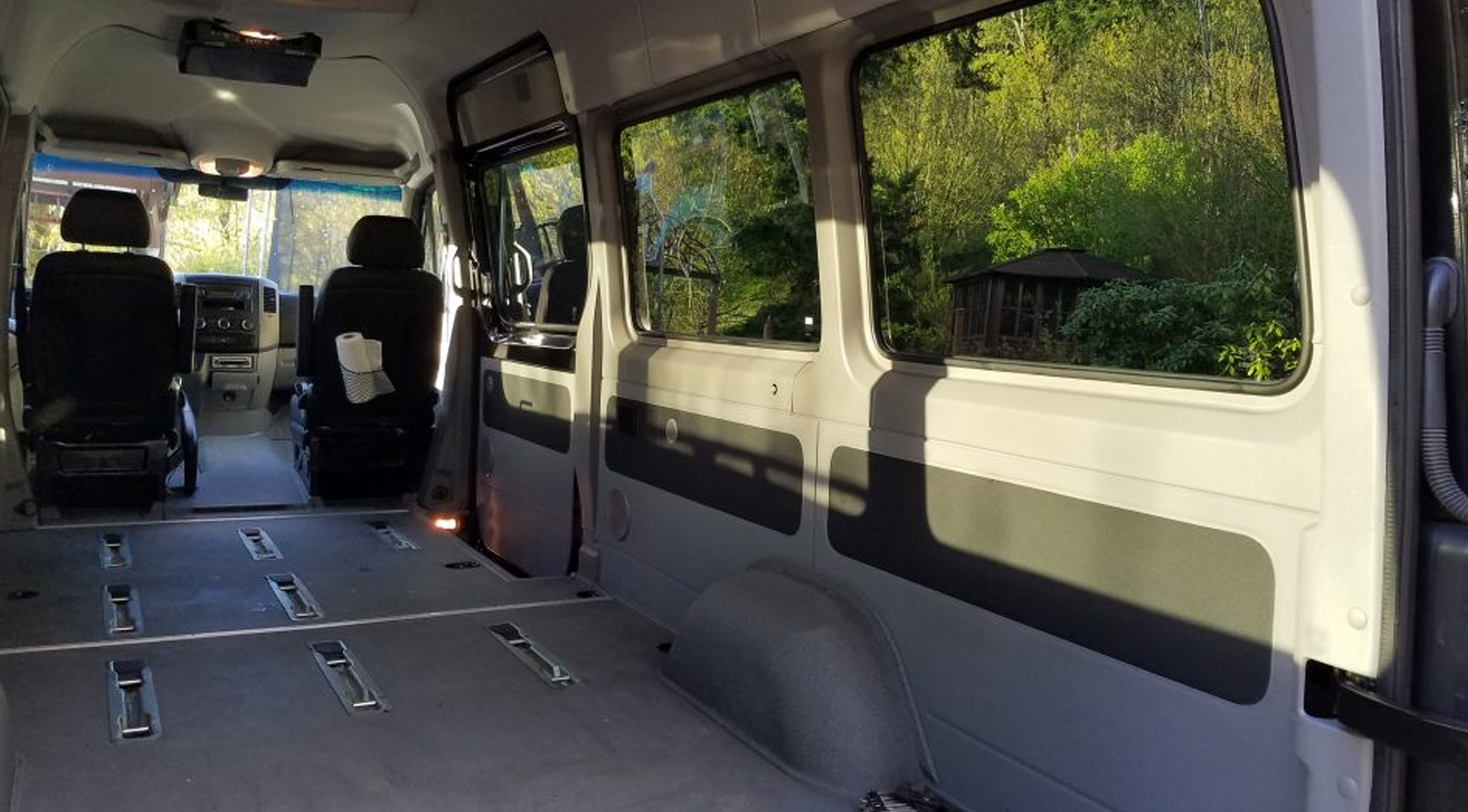 New Mercedes Sprinter Van for conversion