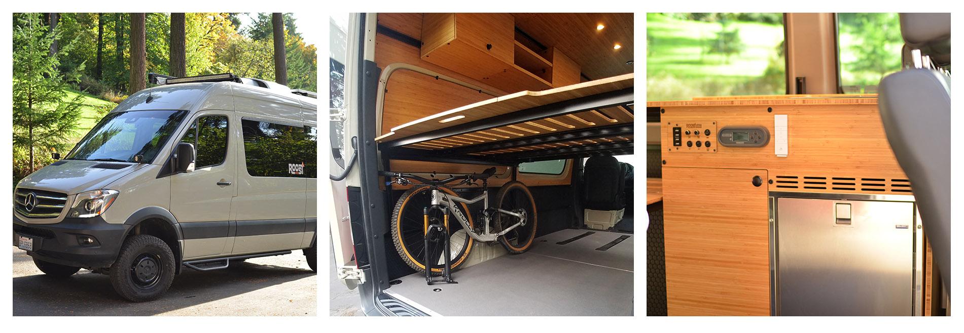 Roost Vans - rapid custom conversion
