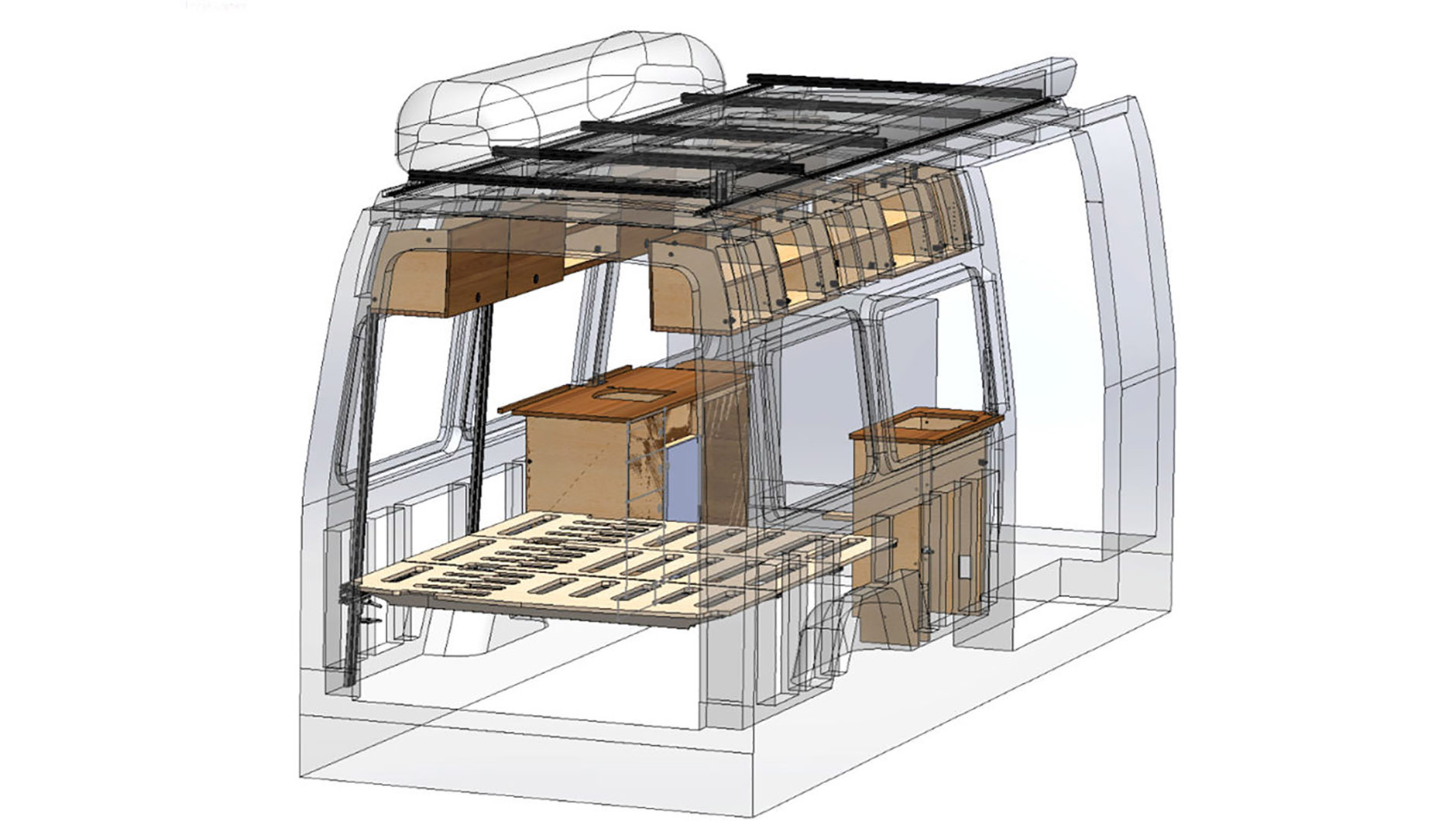 CreatID Roost Sprinter Van Conversion